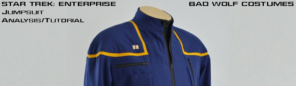 Star Trek: Enterprise Jumpsuit Analysis/Tutorial