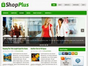 ShopPlus - Free Wordpress Theme