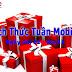 Khuyến mãi 50% Mobifone với Thách Thức Tuần ngày 24 – 31/12
