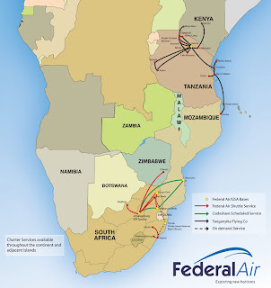 Fedair's Route Network