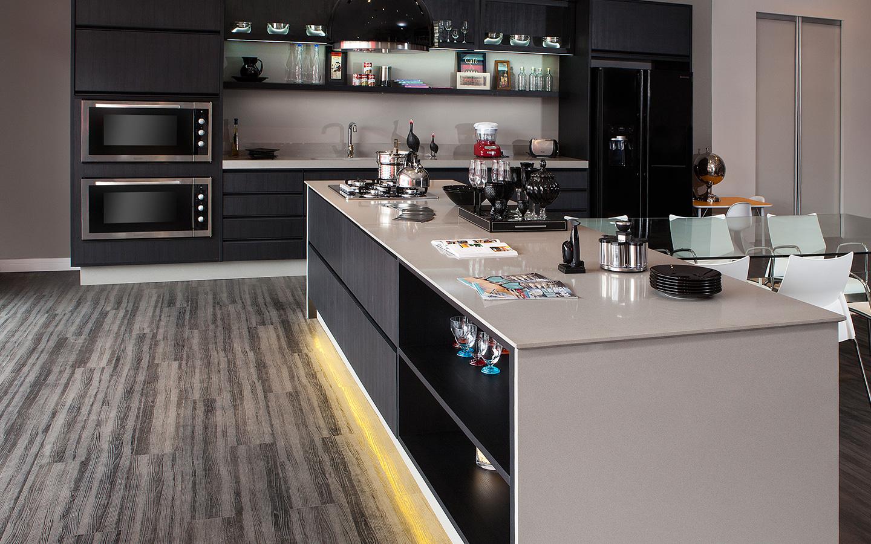 Construindo Minha Casa Clean 30 Cozinhas Escuras Com
