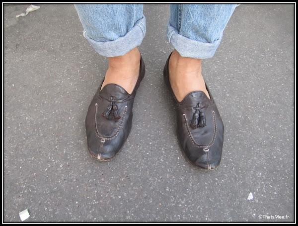 Franck Passerat fashion designer styliste chaussures mocassins babouche Raparao