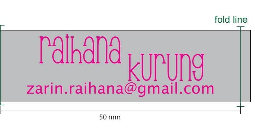 Label baju raihana kurung raihana collection