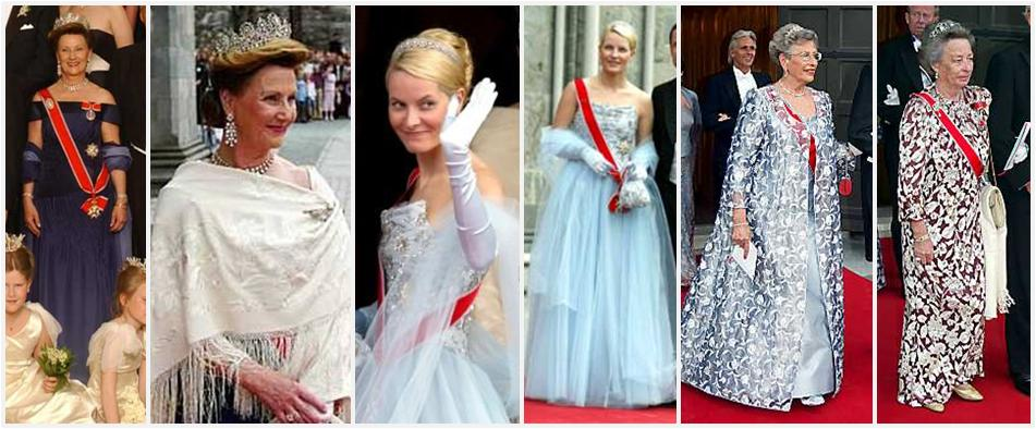 The Royal Order Of Sartorial Splendor Flashback Friday Märtha - Lady worst wedding guest history