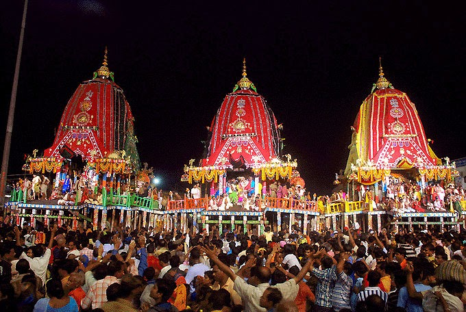 Ratha Yatra, the Chariot Festival at Puri