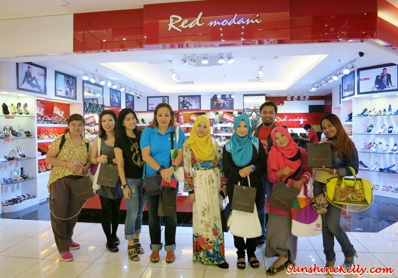 Red Modani shoes, red modani, shoe outlet, Bloggers' Day Out @ Klang Parade, Klang Parade, Shopping Mall