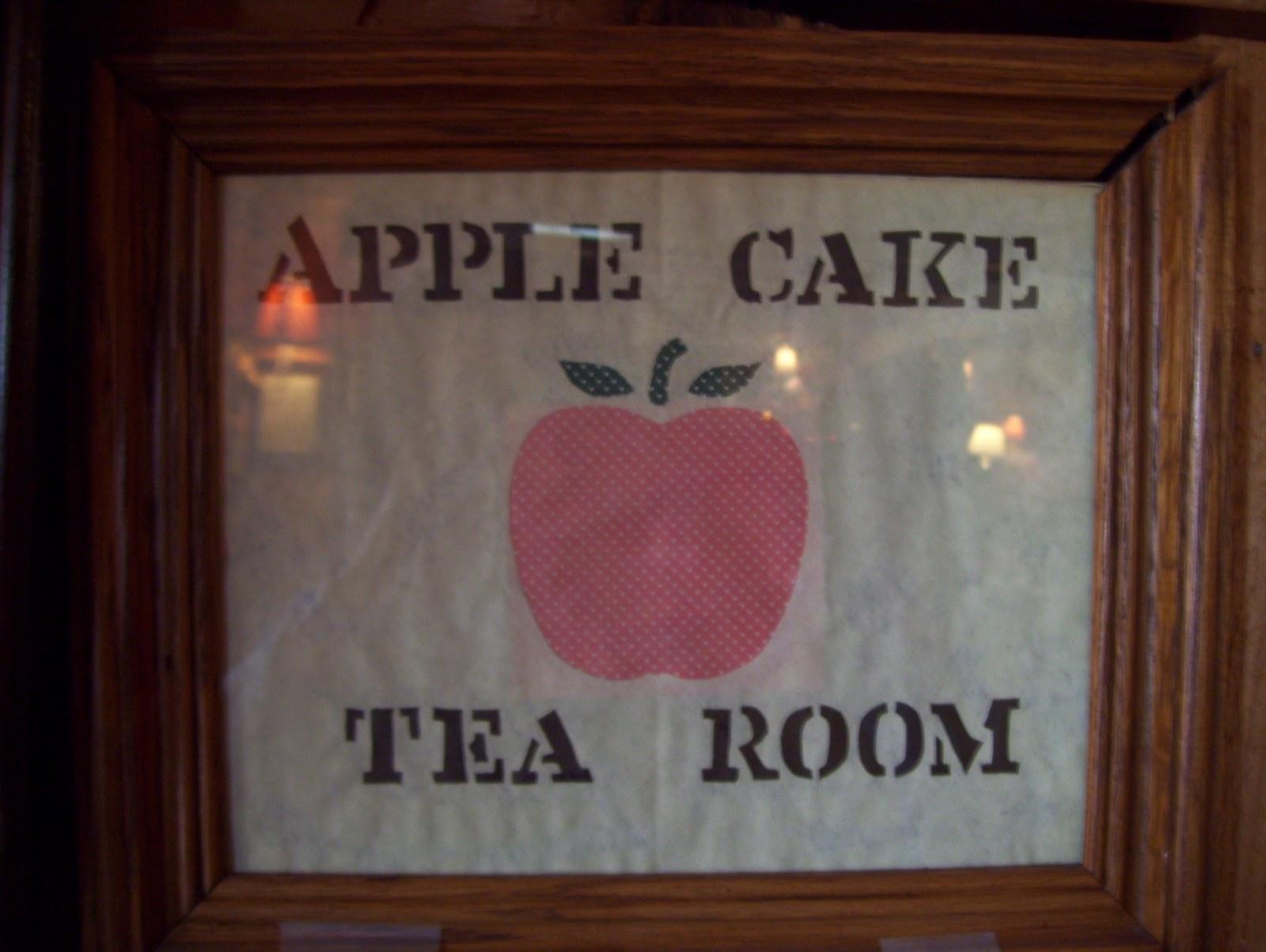 Apple Cake Tea Room Farragut