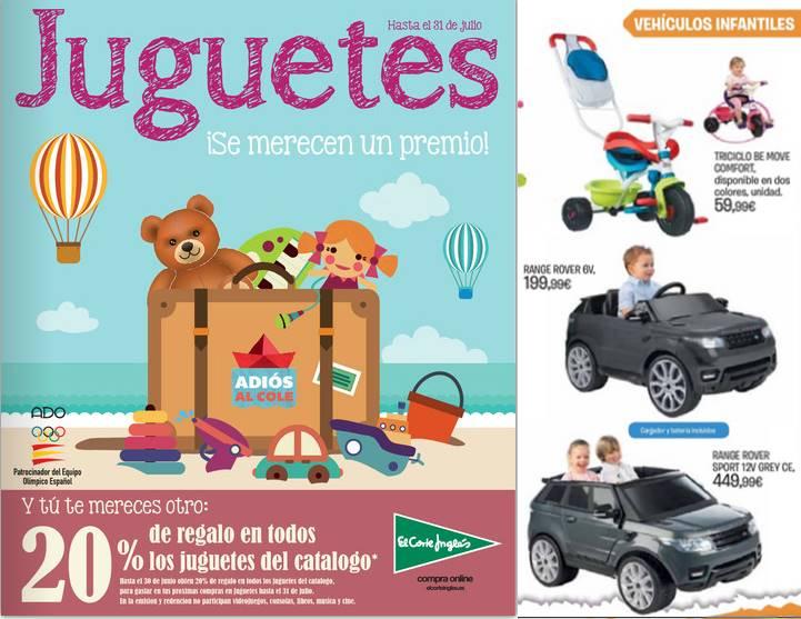 El corte ingles catalogo de juguetes julio 2015 for Catalogo recibidores el corte ingles