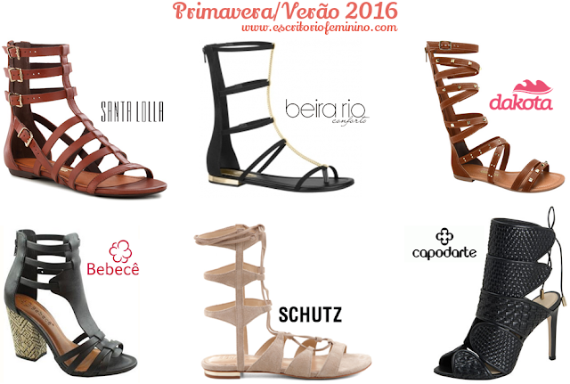 moda gladiadora verão 2016