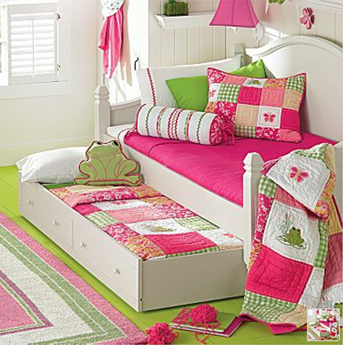 Rose wood furniture girls pink bedroom furniture - Bed for girls room ...