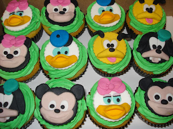 Mickey Mouse & Friends Cupcakes