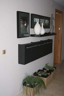 Decoracion mueble sofa recibidor zapatero ikea for Zapatero en el recibidor