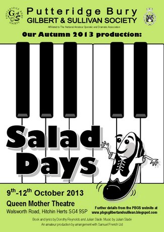 OUR CURRENT SHOW: Salad Days