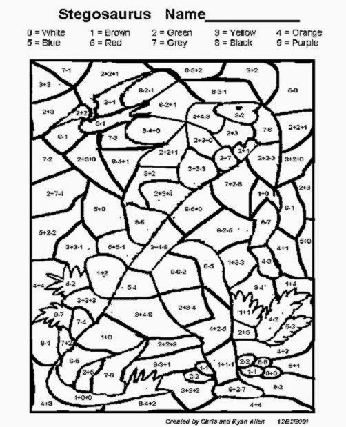 Spring Multiplication Coloring Worksheets Free math coloring sheets ...