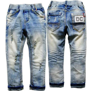 Gambar Celana Jeans Anak Laki-Laki Keren Banget