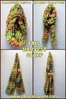 Fall Harvest Infinity Scarf