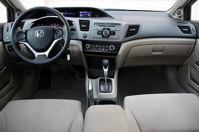 Honda Civic 2012 ภายใน