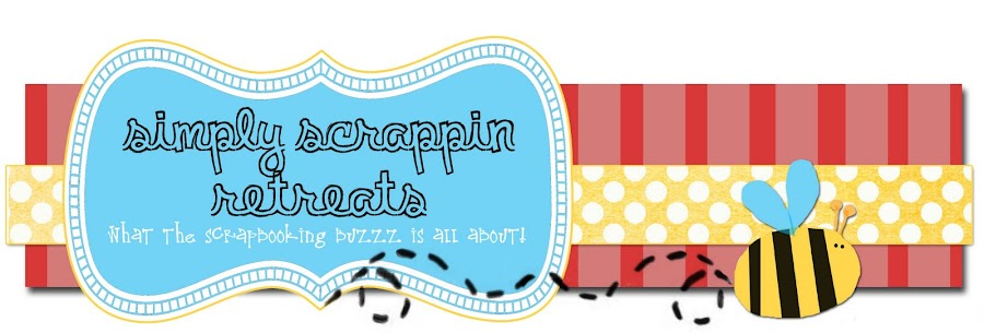Simply Scrappin Retreats...what the scrapbooking buzzz is all about