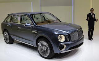 Famous Bentley suv