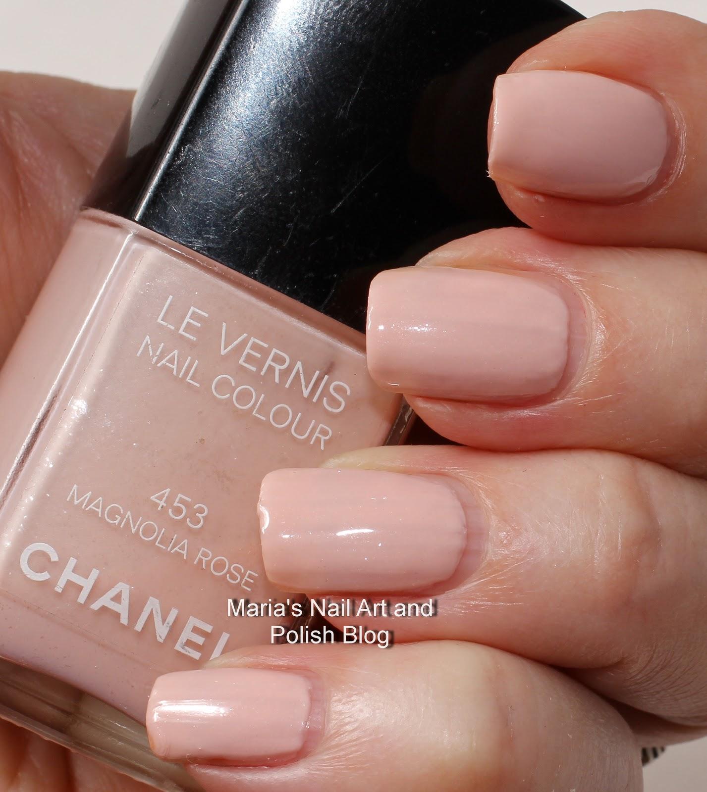 Marias Nail Art and Polish Blog: Chanel Magnolia Rose 453 fall 2007 ...