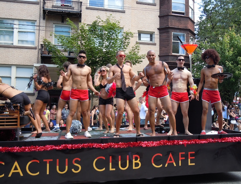 Vancouver Gay Parade Cactus Club Cafe
