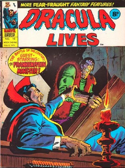 Marvel UK, Dracula Lives #16, Frankenstein