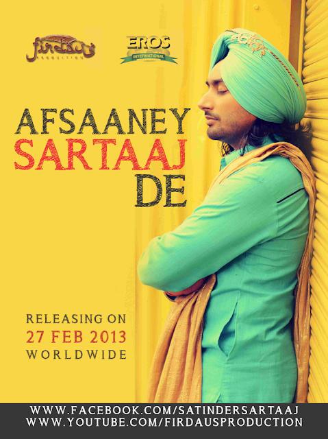 Afsaaney Sartaaj De - Satinder Sartaj - Poster and Release Date