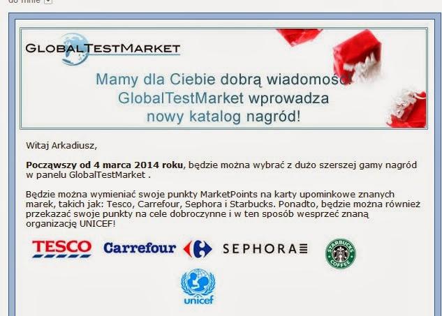 GlobalTestMarket płatne ankiety zarabianie w sieci