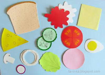 бумажная еда