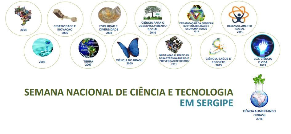 Semana Nacional de Ciência e Tecnologia em Sergipe