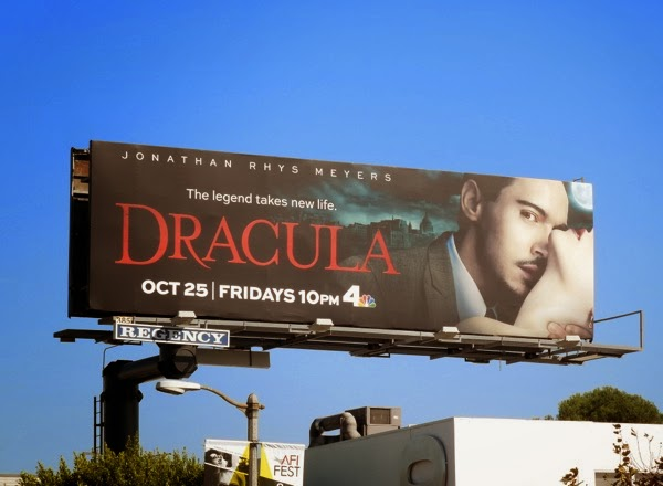 Dracula season 1 billboard ad