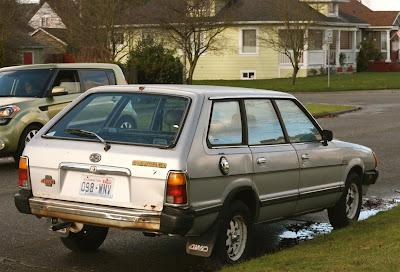 1982 Subaru GL Cyclops Wagon.