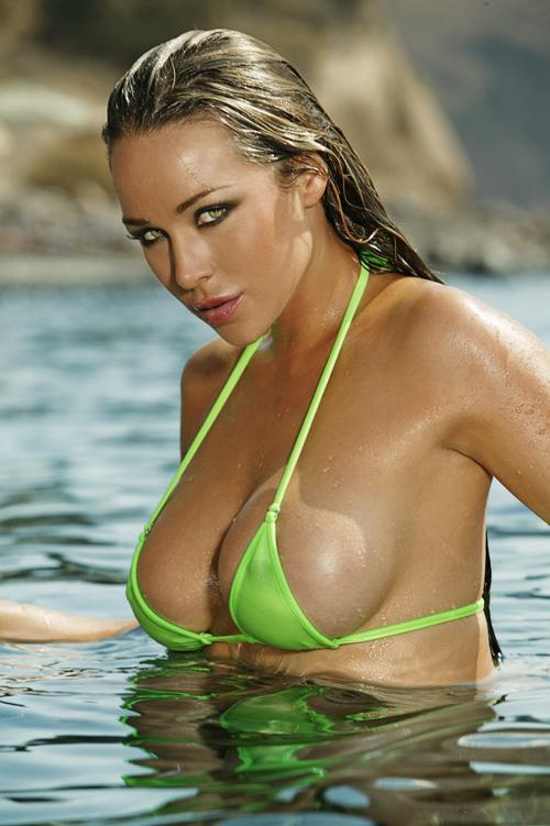 Emily Scott Swimsuit Model