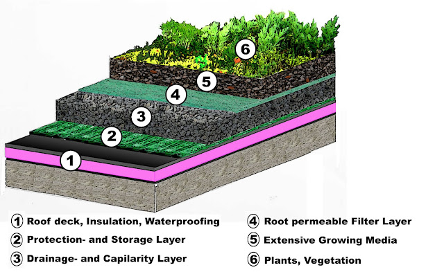 Green Roof Systems, commercial roofing systems