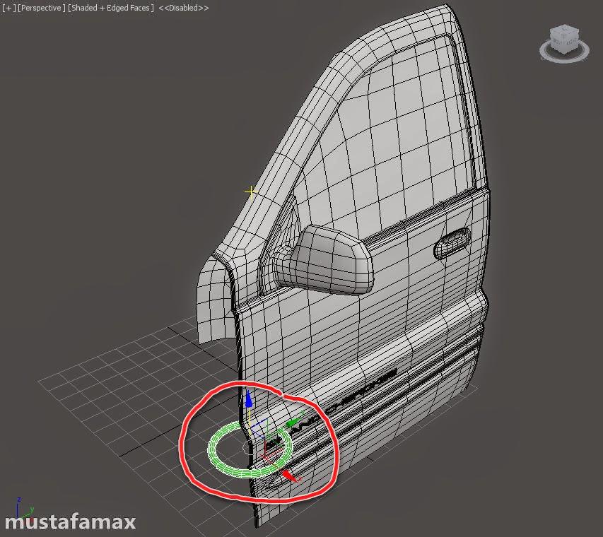 1-أنشاء أدوات تحكم لتحريك سيارة في 3d max 2015