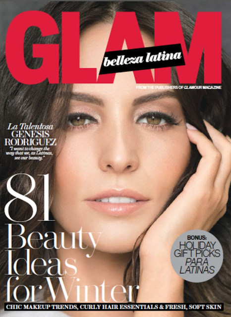 Actress @ Genesis Rodriguez - Glamour Belleza Latina, December 2015