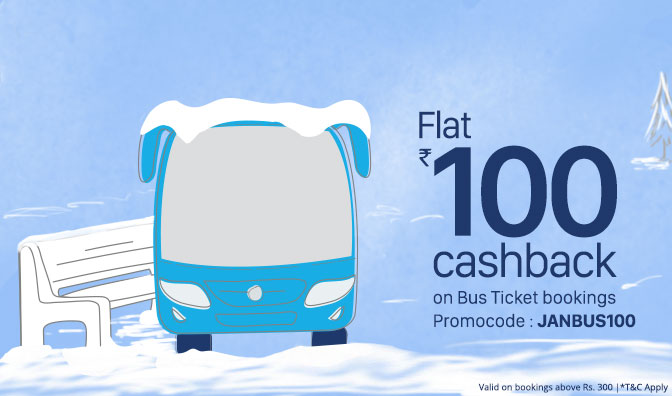 Latest Bus Ticket Bookings Offers