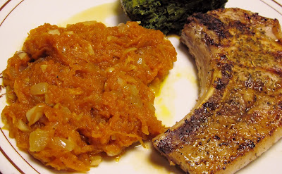 Cuban pumpkin puree Pure de calabaza