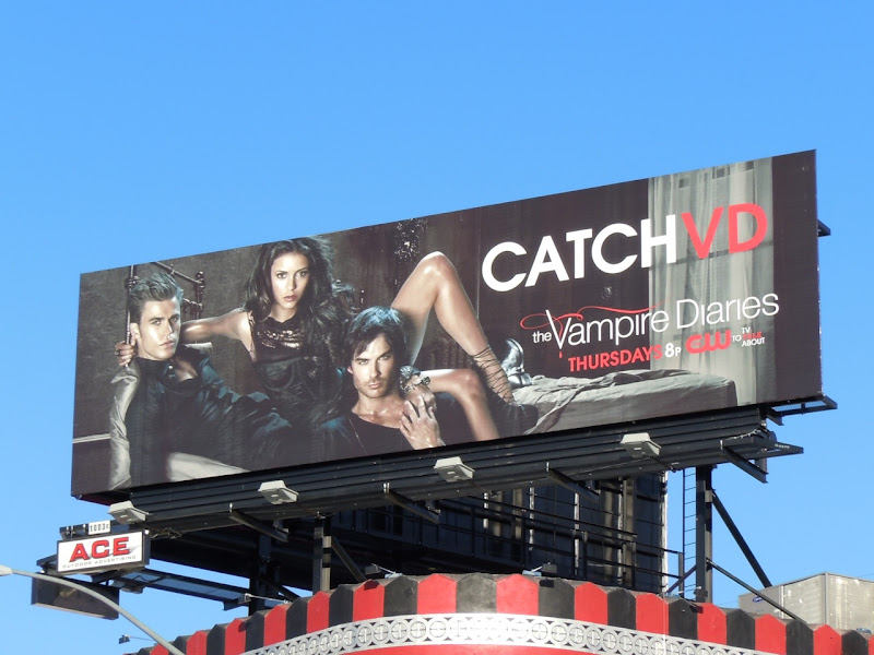Catch VD Vampire Diaries billboard
