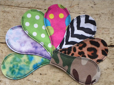 Printed Felt Eye Patches