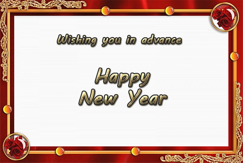 Beautiful Happy New Year 2015 Advance Wishes Cards