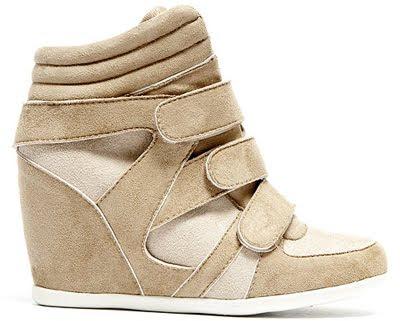 zapatillas deportivas con cuña Suite Blanco