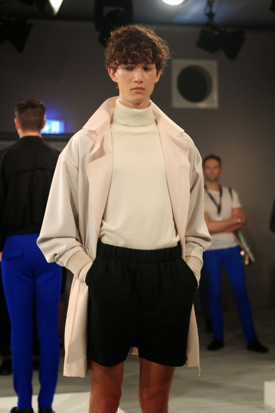 ivan man mercedes benz fashion week  outfit