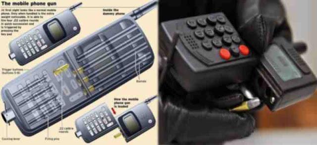 phone gun