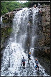 Canyoning 4cliff 5waterfall