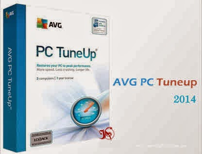 AVG PC Tuneup 2014 serial key and crack