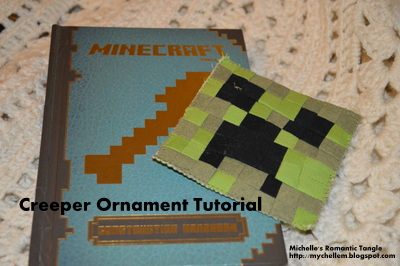 minecraft creeper ornament tutorial
