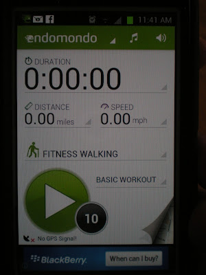 Endomondo exercise tracking app which can be linked with MyFitnessPal which tracks calories consumed