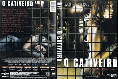 Filme O Cativeiro DVD Capa