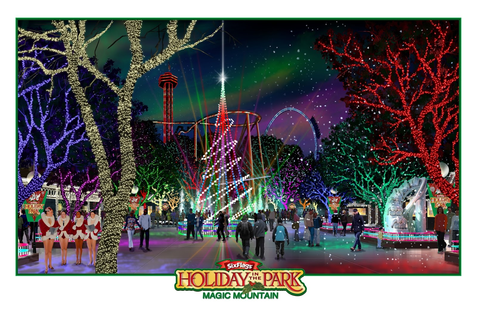 NewsPlusNotes: Six Flags Magic Mountain Announces Holiday In the ...